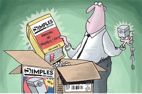Opção pelo Simples Nacional e pelo SIMEI para Empresas Constituídas – 2012