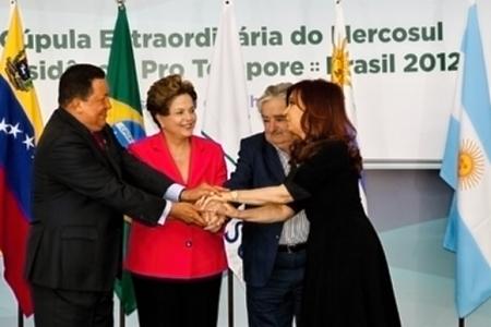 Venezuela será incorporada ao Mercosul nesta segunda.