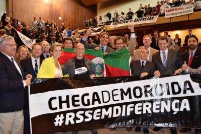 Assembléia gaúcha aprova lei que impede reedição do Imposto de Fronteira