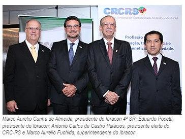 Ibracon Nacional participa da solenidade de posse do Conselho Regional do Rio Grande do Sul