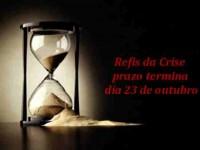 """Termina na sexta-feira o prazo para negociação de dívidas no parcelamento do """"Refis da crise"""""""
