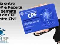CPF passa a ser emitido junto com a certidão de nascimento no Rio de Janeiro e em São Paulo