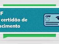 Cartórios do Paraná e Santa Catarina emitem CPF nas certidões de nascimento