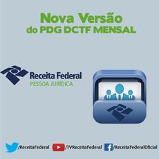 Nova versão do PGD DCTF Mensal