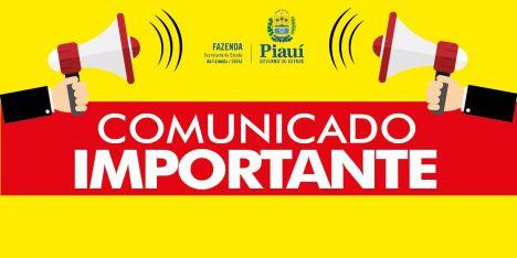 SEFAZ Piauí prorroga prazo de entrega da DIEF para a próxima quinta-feira (18 de agosto)