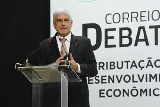 Rachid defende a simplificação do sistema tributário em debate promovido pelo Correio Braziliense