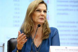 Eduardo Guardia anuncia Ana Paula Vescovi como secretária-executiva