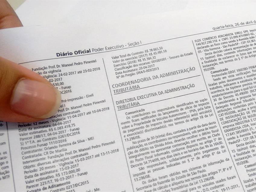 Fazenda paulista suspende inscrição estadual de 11 mil contribuintes por inatividade presumida