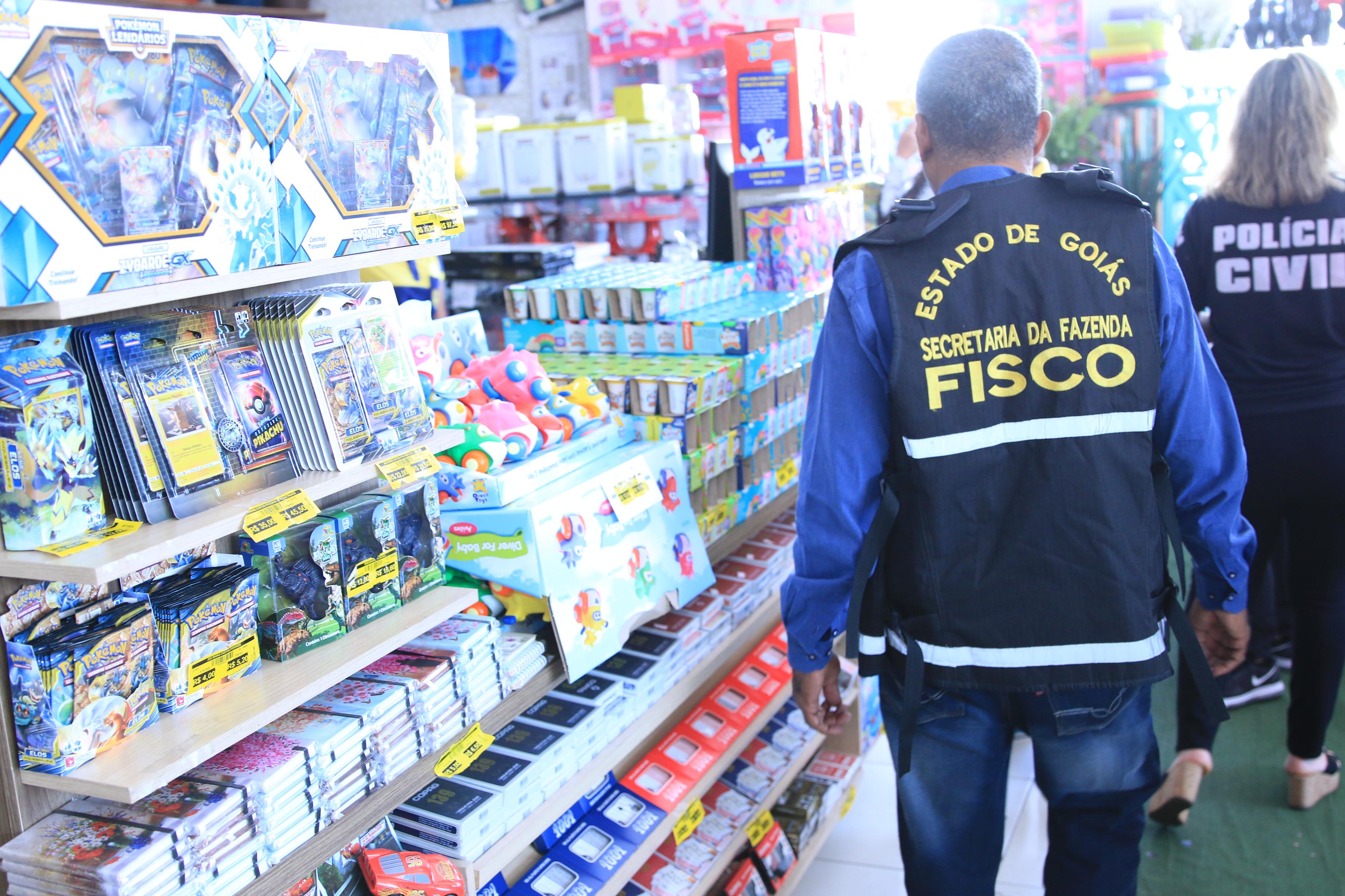 Goiás – Operação do fisco e polícias civil e militar combate fraude fiscal milionária