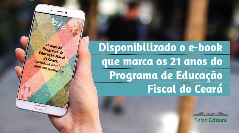 Sefaz Ceará disponibiliza e-book sobre educação fiscal
