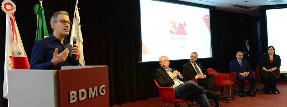 Romeu Zema participa do lançamento do Programa SEF 2030+