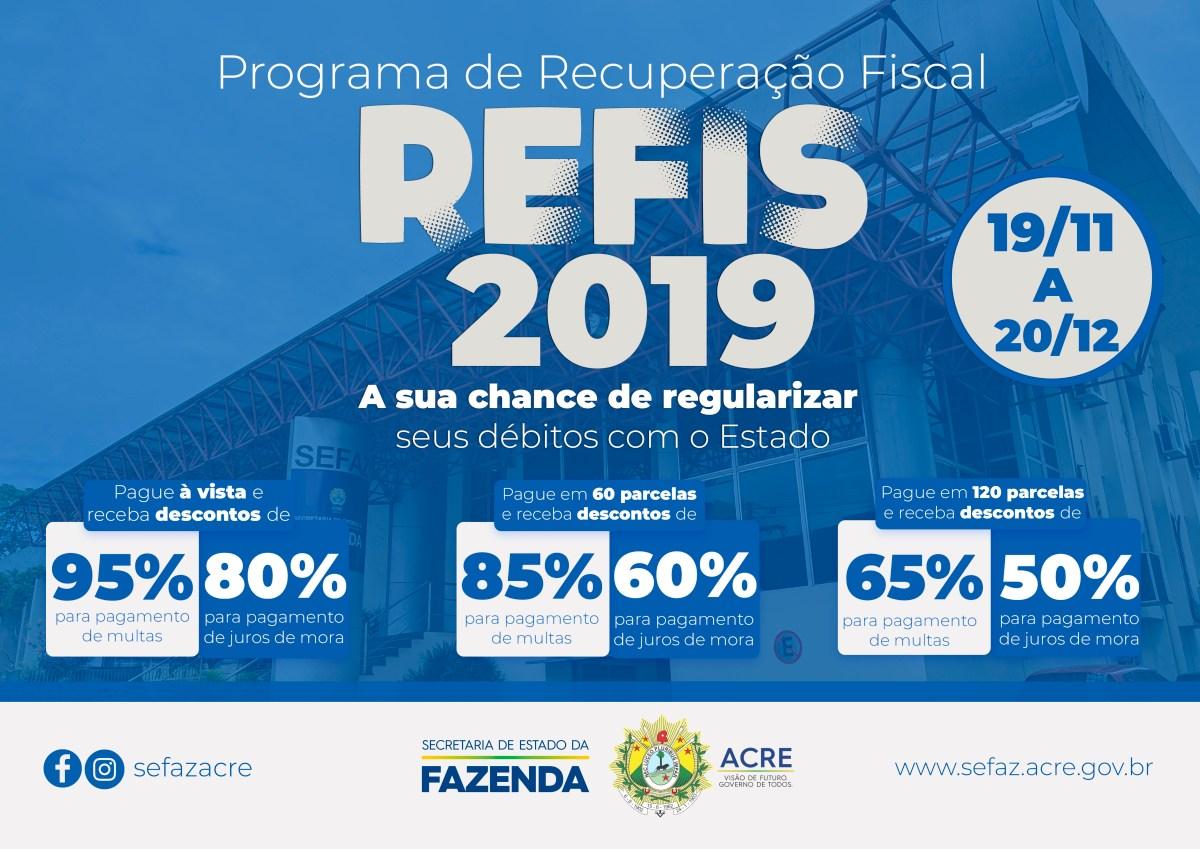 Acre lança Programa de Recuperação Fiscal
