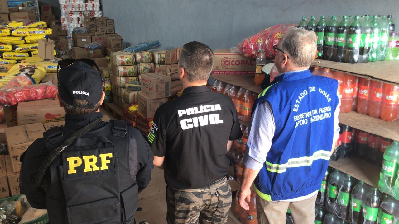 Operação da DRF de Goiânia autua supermercados na capital