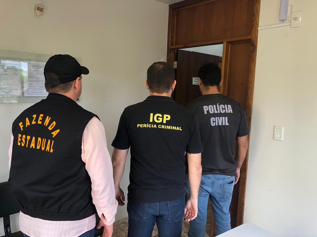 SC – Fazenda, Polícia Civil e IGP deflagram operação contra sonegação de ICMS