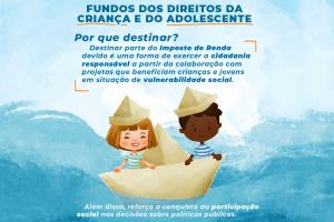 MP lança guia digital com orientações para destinação do IR aos Fundos da Criança