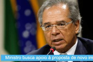 Guedes insiste com senadores em novo imposto para desonerar folha salarial