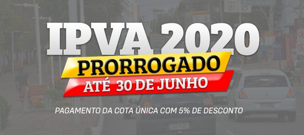 Piauí prorroga pagamento do IPVA com 5% de desconto para 30 de junho