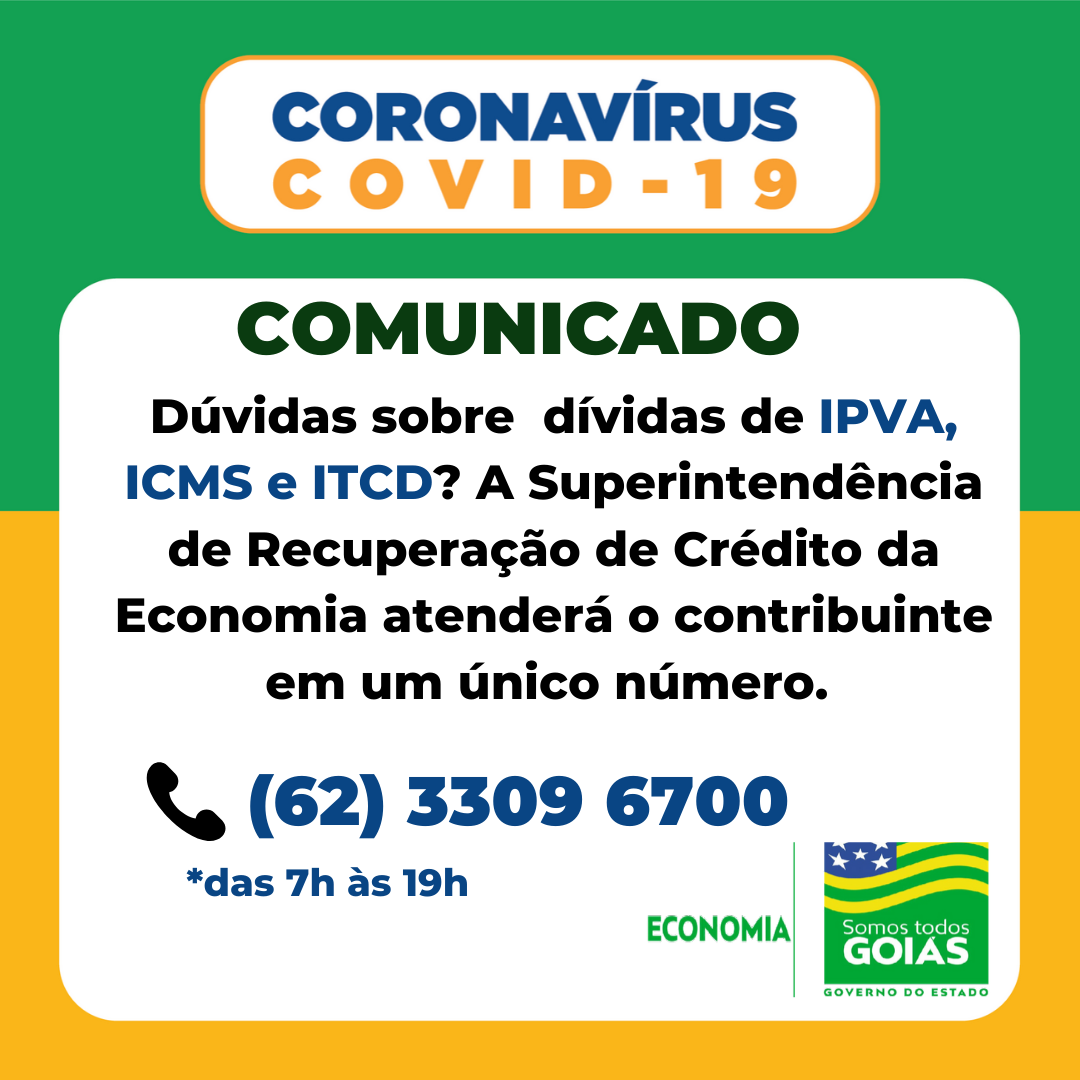 Economia disponibiliza tira-dúvidas sobre dívidas – Goiás