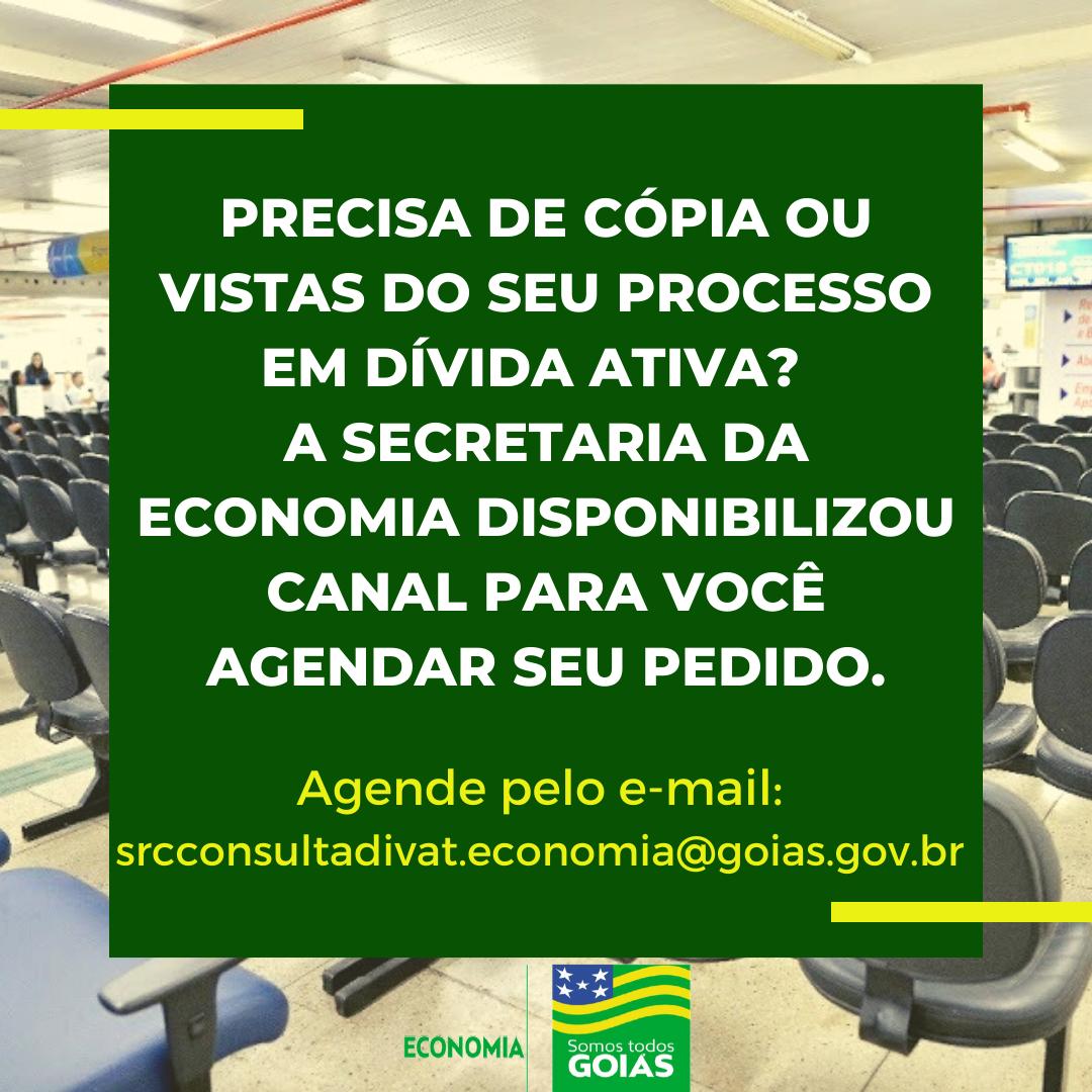 Pedidos de vistas e cópia de processos serão por agendamento – Goiás