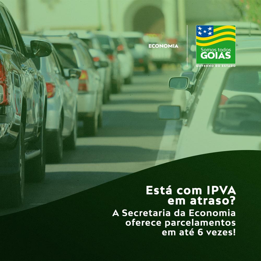 Contribuinte poderá parcelar dívida de IPVA – Goiás