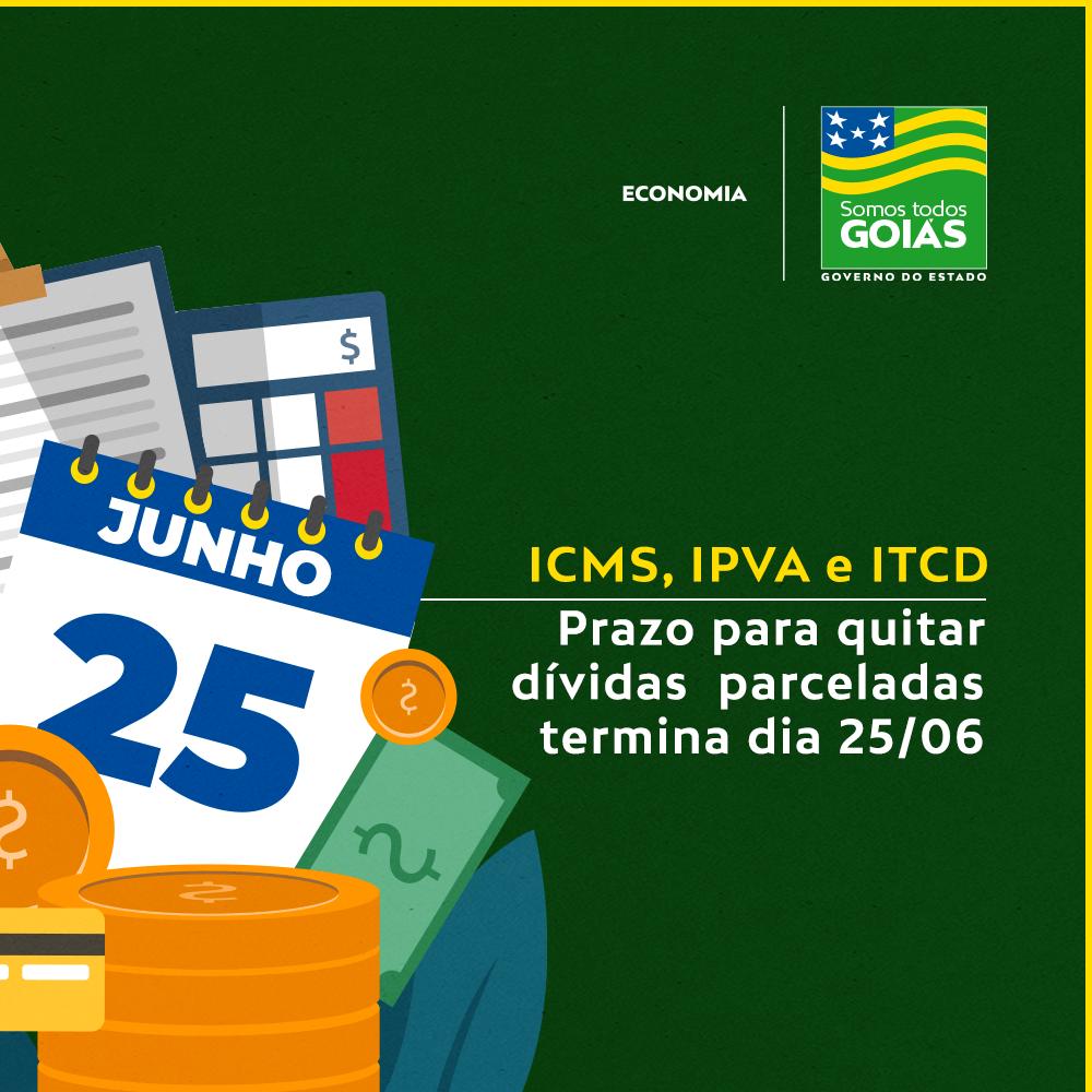 Prazo para quitar dívidas parceladas termina dia 25 – Goiás
