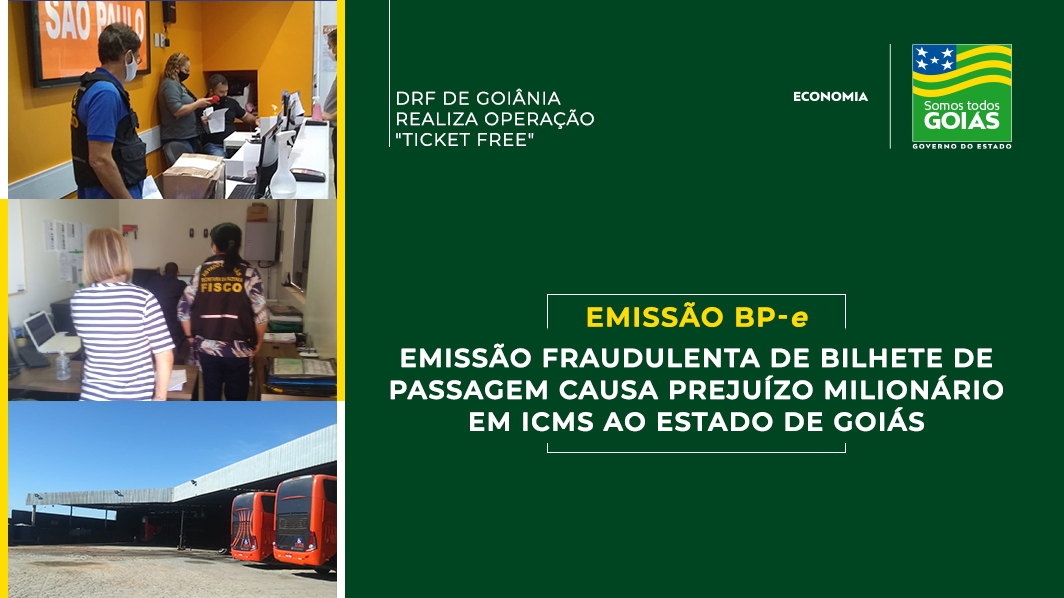Empresa de transporte de passageiros causa prejuízo milionário em evasão de ICMS em Goiás