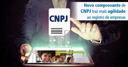 Novo comprovante de CNPJ traz mais agilidade ao registro de empresas