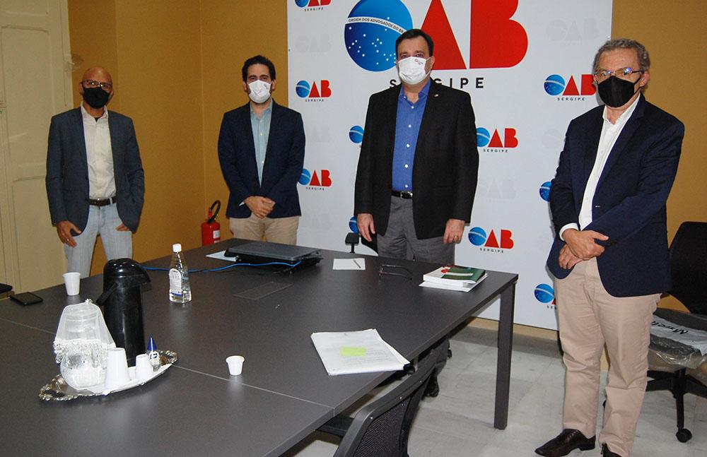 Sefaz/SE e PGE reúne-se com a OAB/SE para tratar do ITCMD