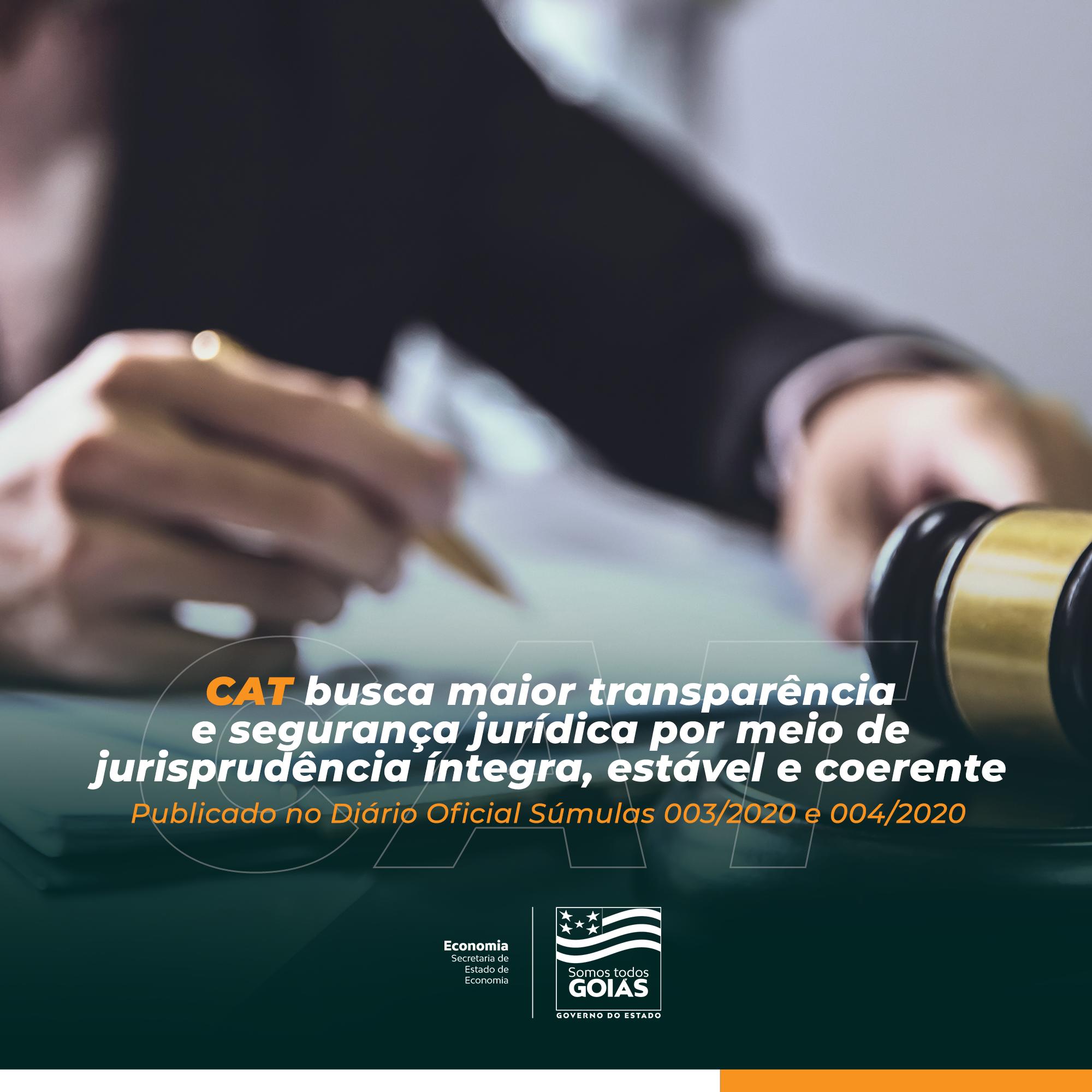 CAT publica súmulas que vão ampliar a transparência e dar celeridade ao julgamento de processos, contribuindo para formação de jurisprudência íntegra, estável e coerente