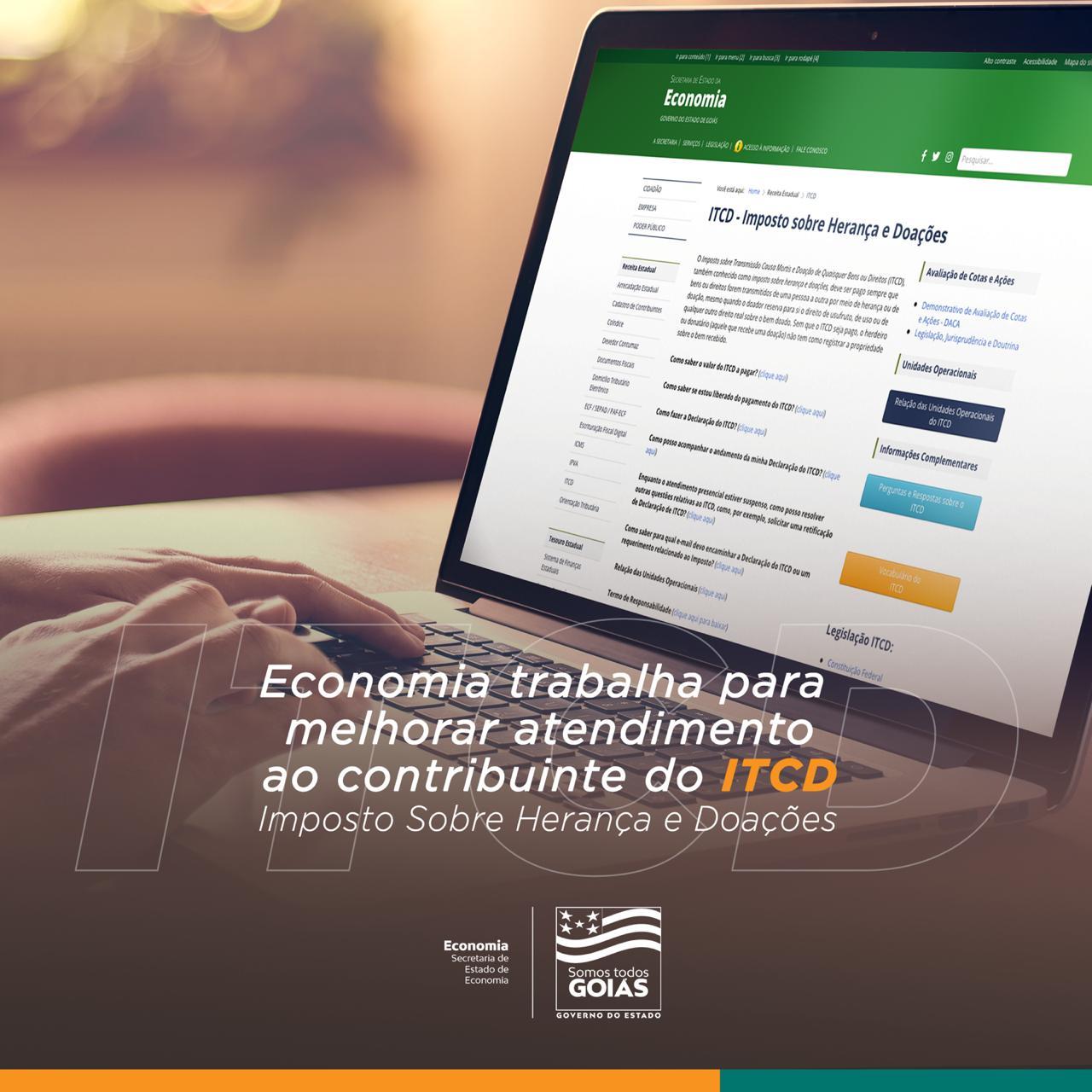 Economia busca simplificar acesso do contribuinte ao ITCD – Goiás