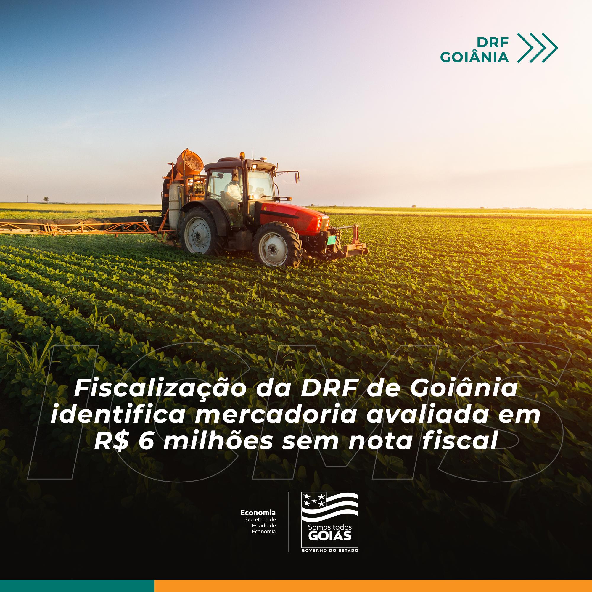 Grupo de empresas fiscalizado pela DRF de Goiânia sonegou mais de R$ 500 mil de ICMS