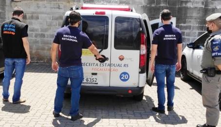 Operação da Receita Estadual na Serra Gaúcha busca recuperar R$ 7 milhões aos cofres públicos