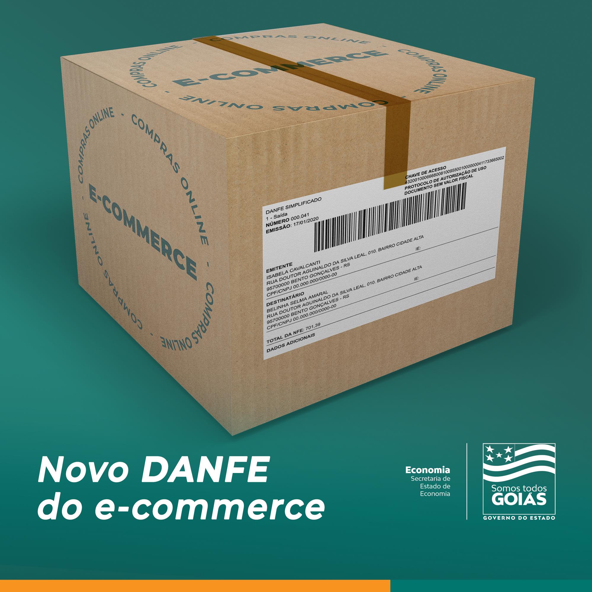 E-commerce: Danfe em formato etiqueta está disponível