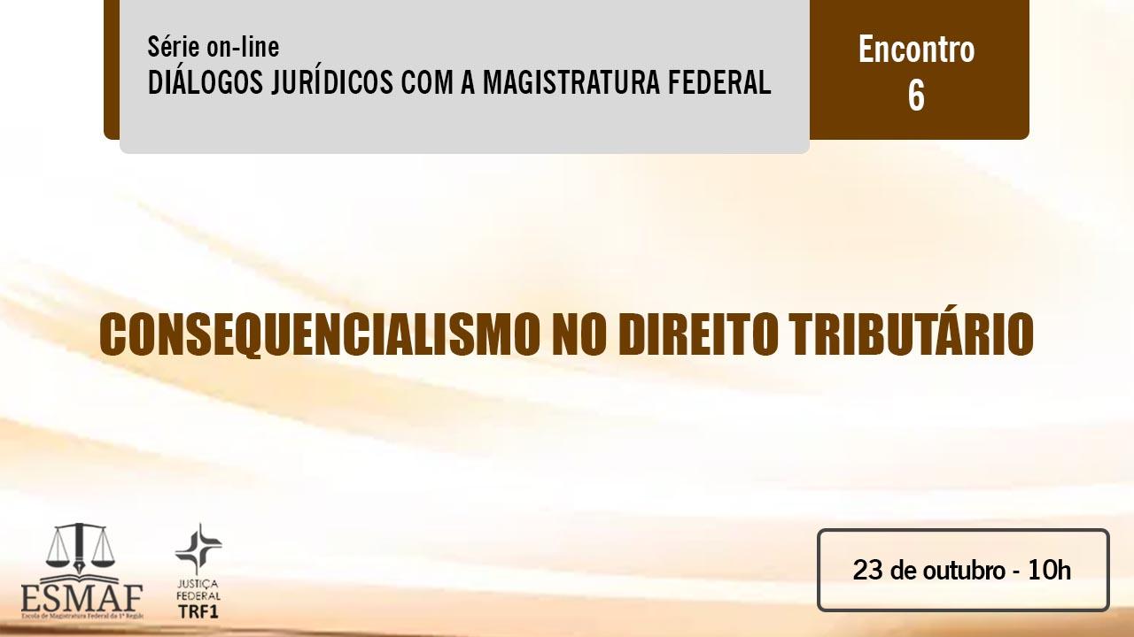 Direito Tributário é tema do webinário da Esmaf de sexta-feira (23)