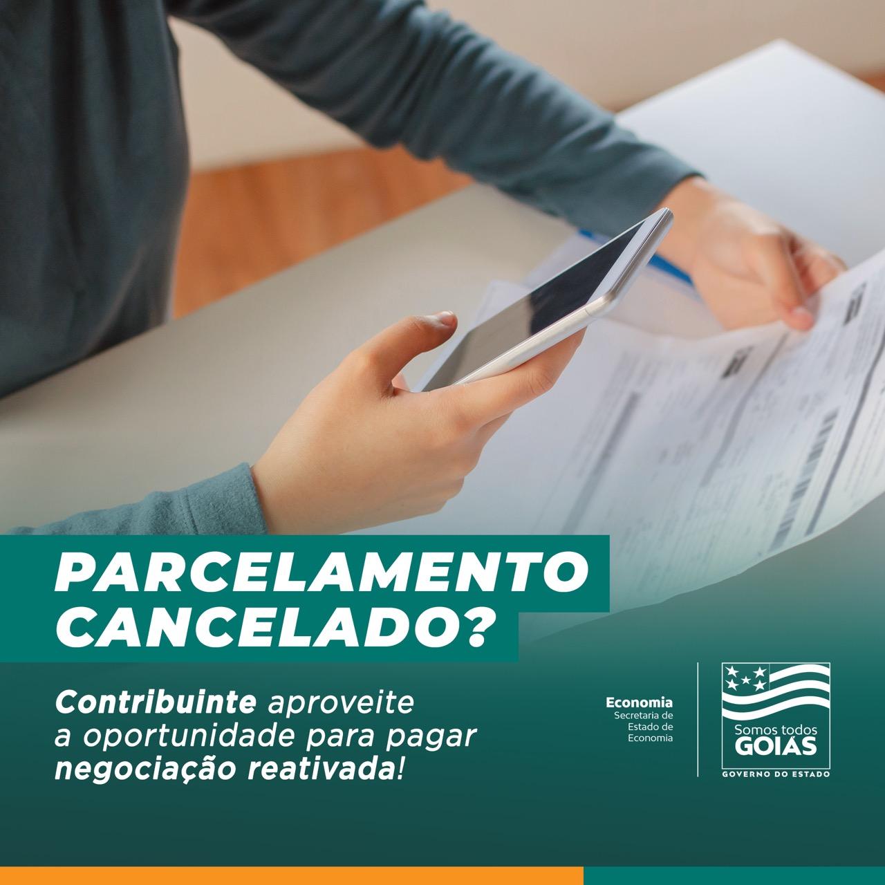 Goiás – Contribuinte tem nova chancepara quitar parcelamento reativado
