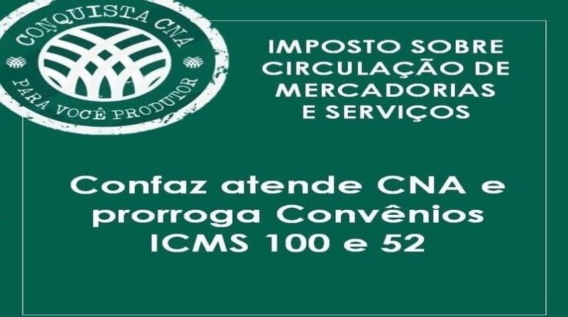 Prorrogados convênios que reduzem cobrança de ICMS sobre o agro