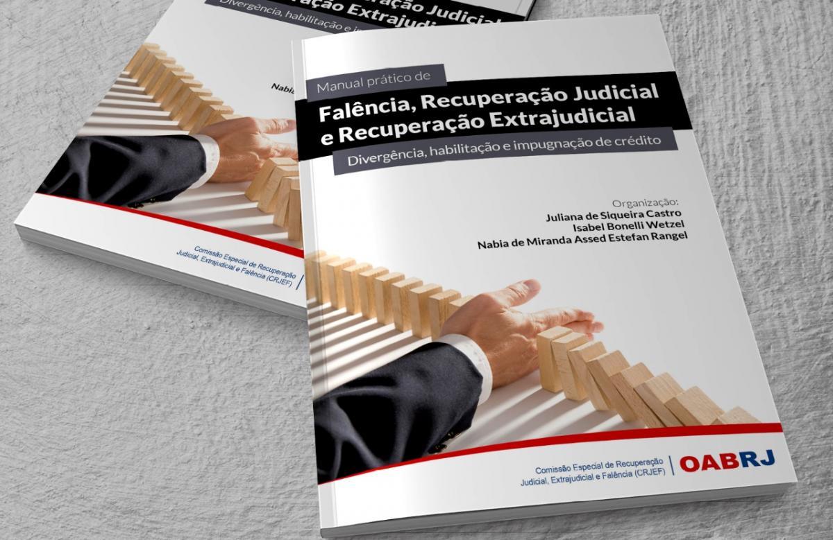 Comissão lança manual sobre falência, recuperação judicial e extrajudicial