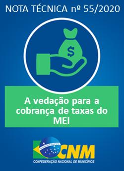 Nota técnica orienta sobre vedações para a cobrança de taxas do MEI entre os Municípios