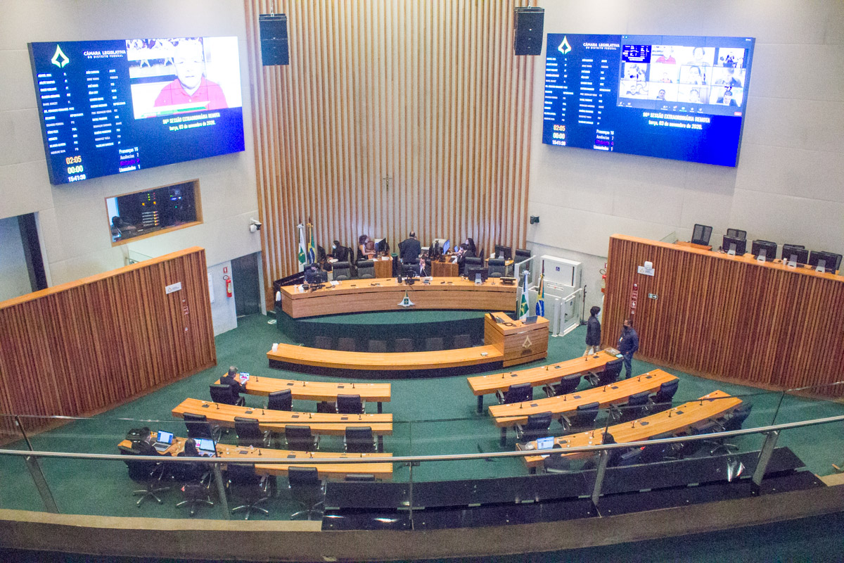 Câmara Legislativa aprova novo Refis – DF