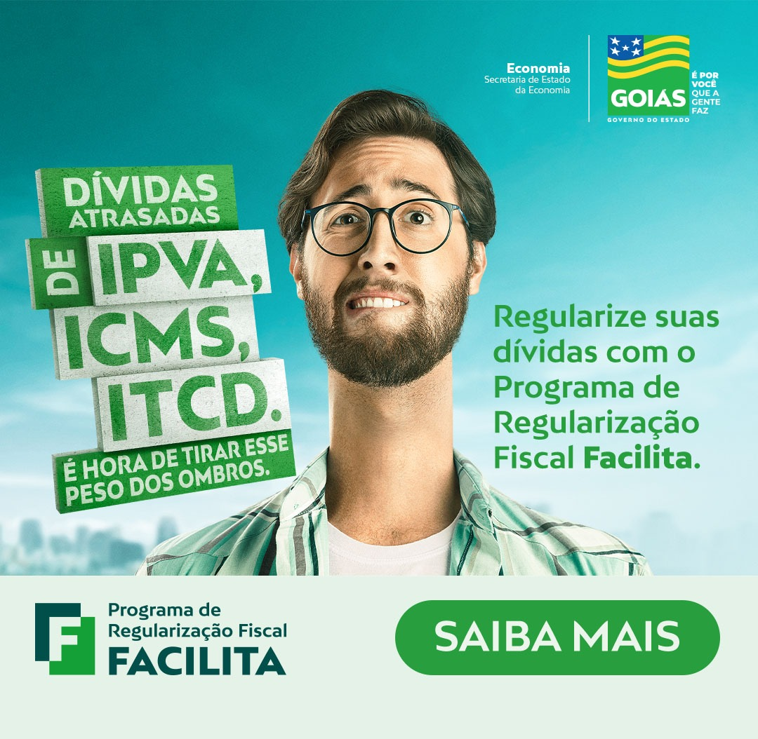 Goiás – Passo a passo do pagamento do ITCD por meio do Programa de Recuperação de Crédito Facilita