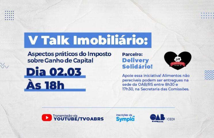 Imposto sobre ganho de capital será tema de evento da CEDI – OAB/RS