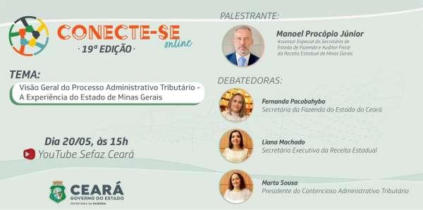 Ceará – Boas práticas em processo administrativo tributário serão apresentadas nesta quinta-feira (20)
