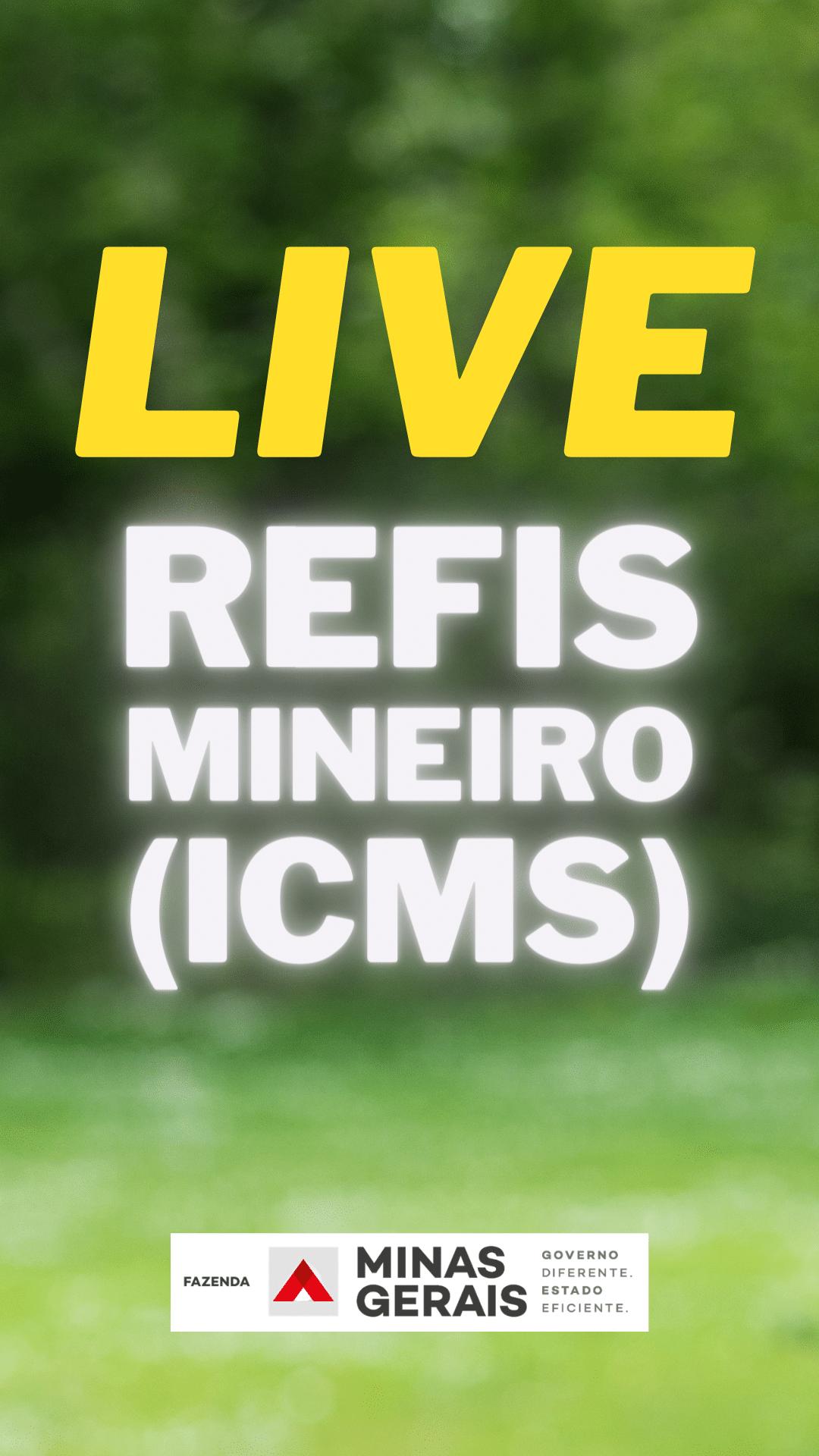 Secretaria de Fazenda MG esclarece, em live, dúvidas de contribuintes sobre o refis do ICMS