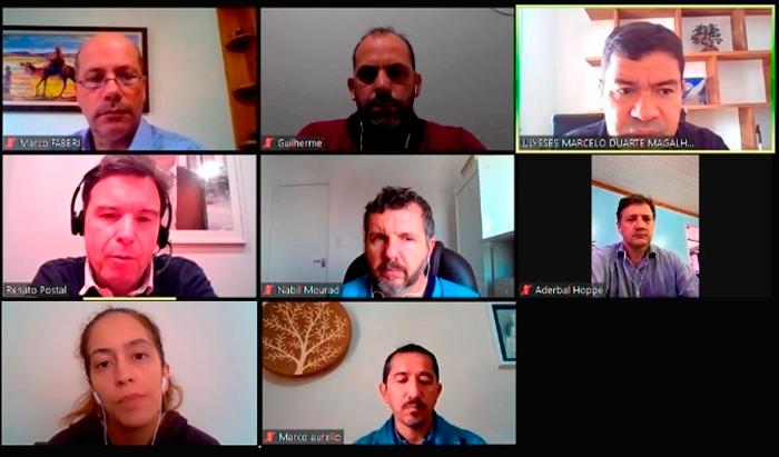 5ª Seção Regional realiza reunião por videoconferência