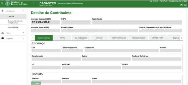 Ceará – Inscrição Estadual de contribuintes tem nova numeração