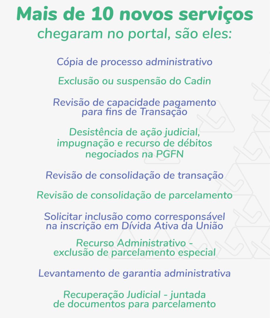 PGFN entrega mais de 10 novos serviços no portal REGULARIZE e atinge a meta de digitalização