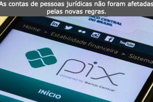 Operações do Pix à noiteterão limite de R$ 1 mil a partir dehoje